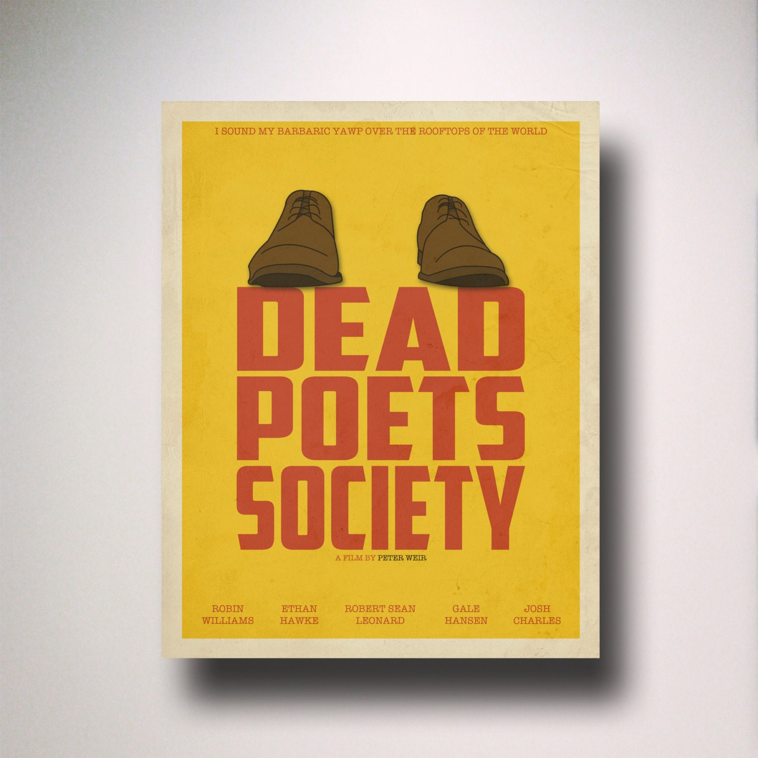 reaction paper dead poets society Read this essay on dead poets society come browse our large digital warehouse of free sample essays get the knowledge you need.