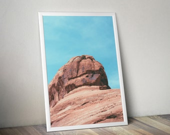Red Rock - American West Poster Photograph 11x17, 18x24, 24x36