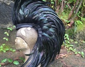 """Feather Mohawk  - """"The Crow"""" (Customizable)"""