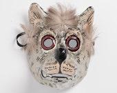 wolf mask paper mask