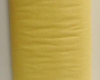 Buttercup 20% Merino Wool Felt Blend Fabric By the Yard from Woolhearts