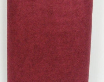 Victorian Rose 35% Merino Wool Felt Blend Fabric By the Yard from woolhearts