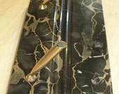 Double Pen Holders of Marble