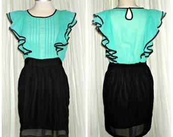 20% off etsy 709...vintage dress,bon ton style ,couponcode SALEFORYOU