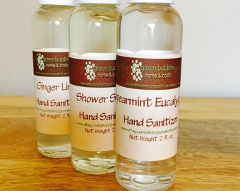 Hand Sanitizer, Ginger Lime 2 oz