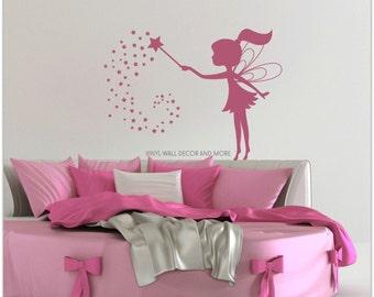 Fairy Decal- Vinyl Wall Decor