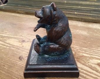 Small Bronze Bear