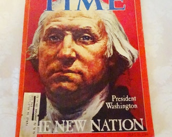 Vintage Time Magazine Special Bicentennial Issue 1976