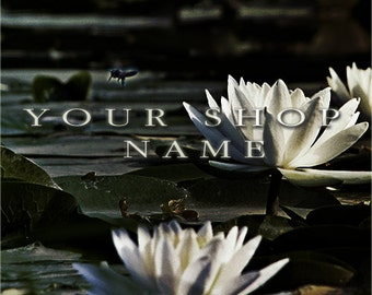 Custom Etsy Shop Banner Set (Pre-made) - Lotus