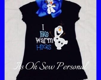 I like warm hugs dress & BOW