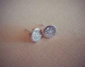 Sterling Silver Safari Themed Stud Earrings