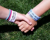 SALE PRICE! Custom Child safety bands. Reusable, washable, adorable!