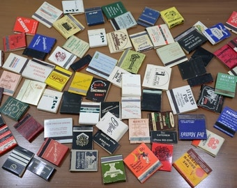 72 Ohio Hotel and Restaurant Matchbook Lot