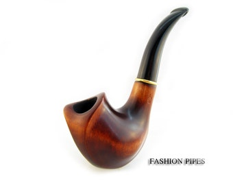 """New, Exclusive Pipe """"BUD"""" Smoking pipe Classic Wooden pipe Handcrafted Tobacco Pipe/Pipes, Limited Edition"""