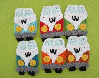 Crochet applique WW