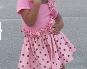 Zoe Girl's Paperbag Dress