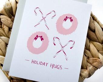 Holiday Hugs Greeting Card