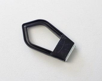 Vintage Handheld Magnet Tool - Magnet for Work - Made in Japan - Magnet Blue Handle