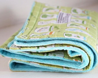 Bug Jars Wriggle Baby Quilt