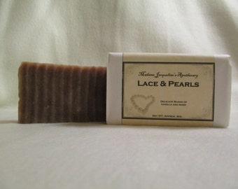 Lace & Pearls Vanilla Soap