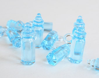 12 Mini Plastic Baby Bottles -Feeding bottle-
