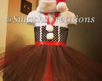 Gingerbread Tutu Dress