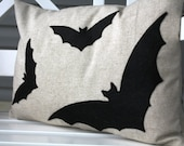 14X20 Bat Crazy Pillow Cover