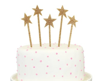 Stars Cake Topper