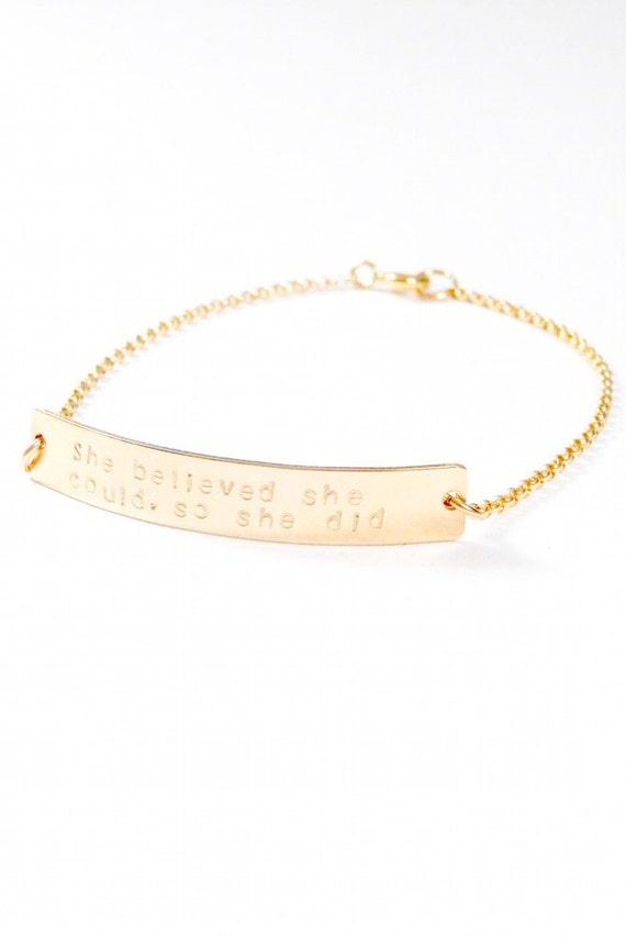 Jessica bracelet. Gold filled or Sterling Silver.