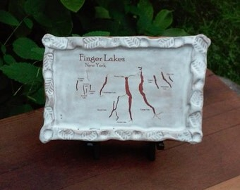 Finger Lakes Ceramic Decorative Tile