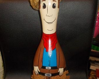 Cowboy Bowling Pin
