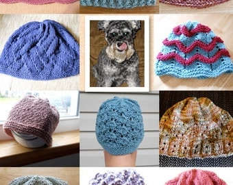 CAP-turing Hope Knit Hat Pattern Book