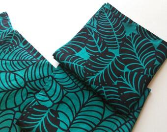 Cloth Napkin, set of 4, cotton/leaf.