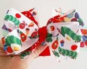 Hungry Caterpillar  bow.  Christmas bow.  Church bow.  Back to school.  Birthday girl.