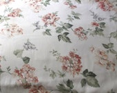 """King Sheet set & 2 Pillow cases 1 Flat 1 Fitted sheet   100% Cotton White floral 100x 100"""" SALE   SALE"""