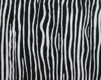 Brandon Mably for Rowan - Creased - Black & White - 1/2 yard Cotton Quilt Fabric 516