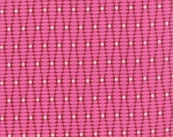 For You by Brigitte Heitland for Zen Chic - Ongoing - Raspberry - 1/2 Yard Cotton Quilt Fabric 516
