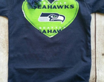 Seattle Seahawks Inspired Shirt or Bodysuit