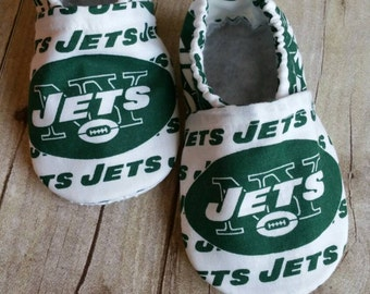 NY Jets Cloth Baby Booties