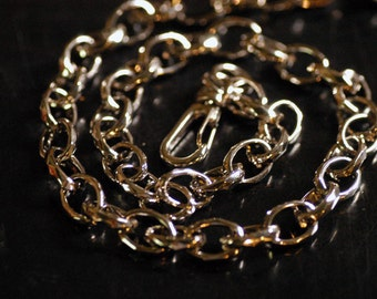 Simple Shiny Loop Wallet Chain 27""