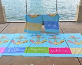 Personalized Beach Towel, Anchor