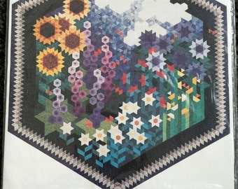 The Other Side of My Grandmother's Flower Garden Quilt Pattern Quilting Flowers Floral