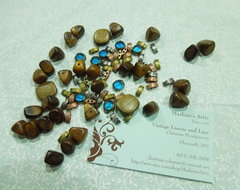 Lot of Assorted Beads for jewelry, bracelet, necklaces, earrings by MarlenesAttic