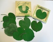 Vintage Greenleaf Rubber Coasters