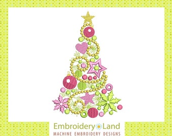 "Shop ""embroidery design new year"" in Patterns & Tutorials"