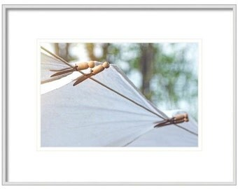 Laundry Room Decor, Country Laundry Art Print, Vintage Clothespins Home Decor, A Simple Life