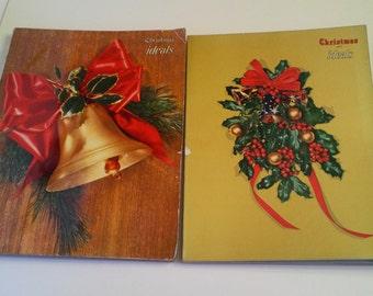 Vintage Christmas Ideals Holiday Magazines