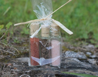 Culinary Salt Favor-A Voyage of Salts-Weddings-Bridal-Baby-Showers-Place Card Favors-Save the Date-Belle Savon Vermont