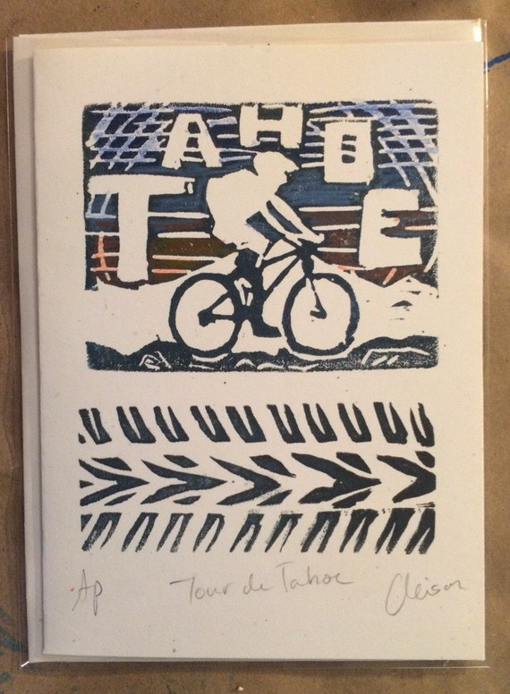 Tahoe Mountain Biker Card