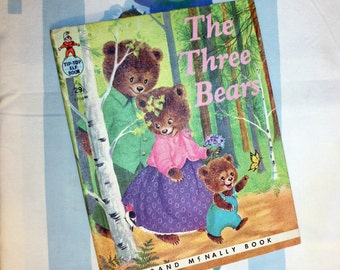 The Three Bears, 1959 Tip-Top Elf Book